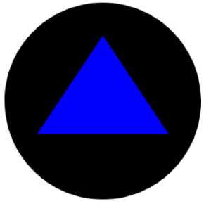 The ball and triangle