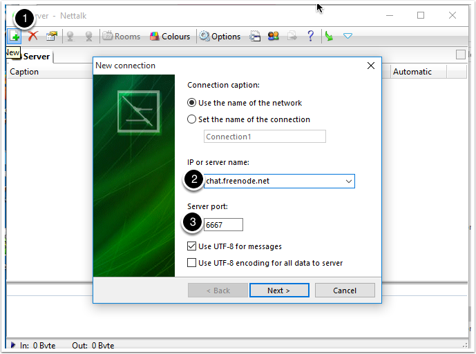 Setting up an IRC Client for the Office Hours Chat on Windows